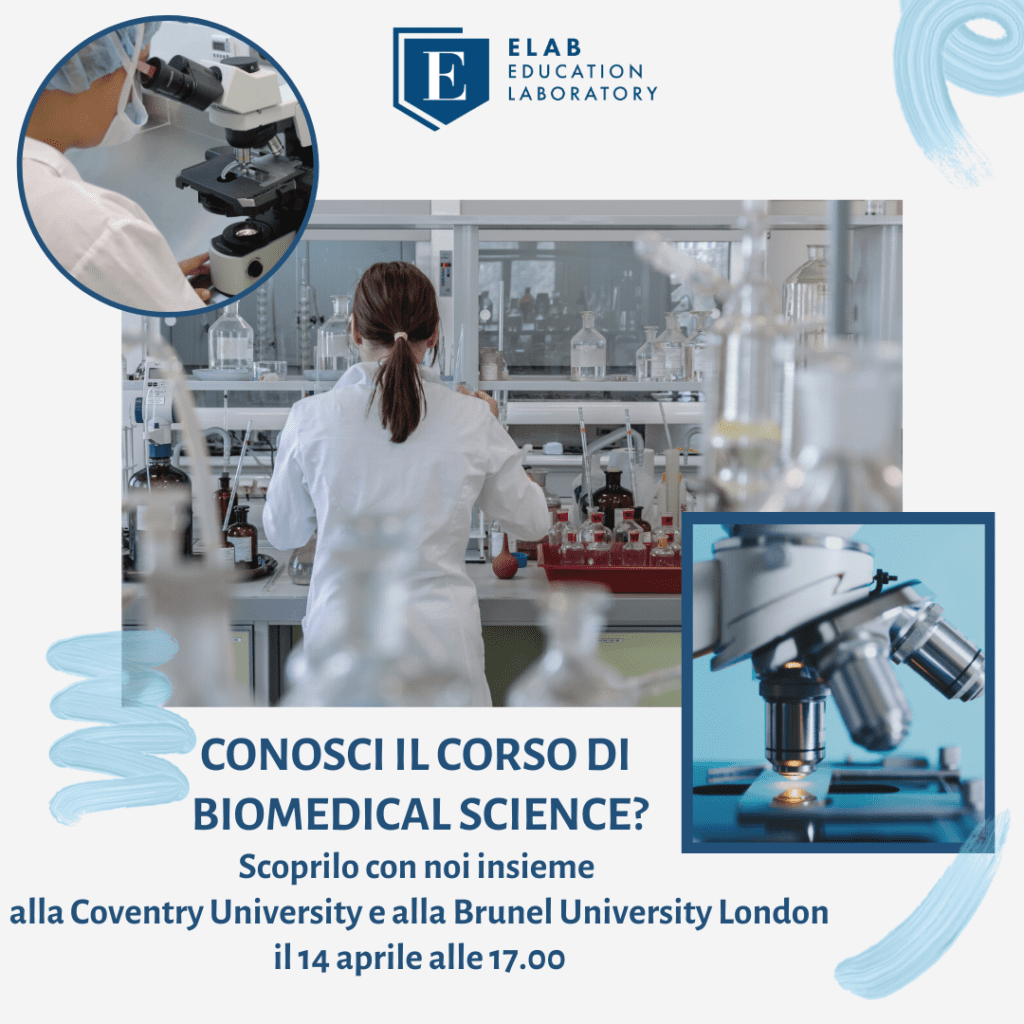 Scopri Biomedical Science. Microscopio e ragazza che lavora. Brunel University London e Coventry University